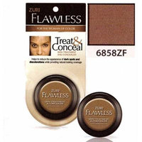 Zuri Flawless Treat & Conceal Skin Treatment & Concealer - Ebony (Pack of 6)