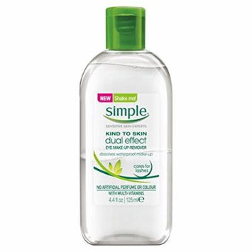 Simple Kind To Skin Dual-Effect Eye Make-Up Remover 125ml by Simple