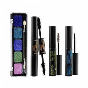 Measurable Difference 4-Piece All About The Eyes Makeup Kit (BROWN)