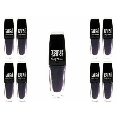 Lot of 9 Sally Hansen Triple Shine Nail Color, Deep End, 0.33 Ounce