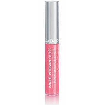 Isadora Multi Vitamin Antioxidant Lip Gloss made by 90% of vitamins A, C, E + Q10 - 7 ml/.24 Fl.oz. (07 Pomegranate)