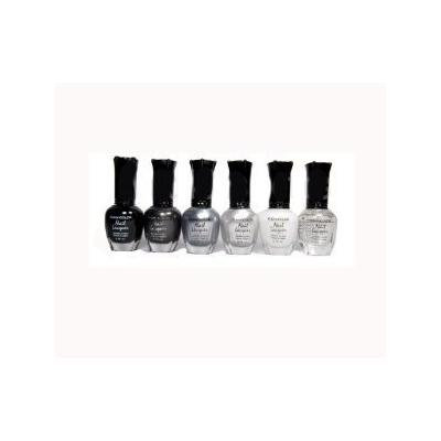 Kleancolor - 6 Awesome Nail Lacquers - Set 20 by mad4cosmetics