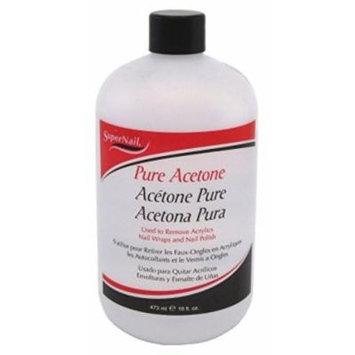 Super Nail Pure Acetone Polish Remover, 16 Oz by Super Nail