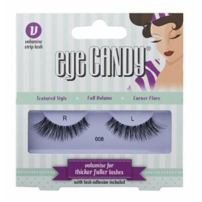 Eye Candy Strip Lashes 008 Dramatise 50's Look Natural False Lashes by Eye Candy