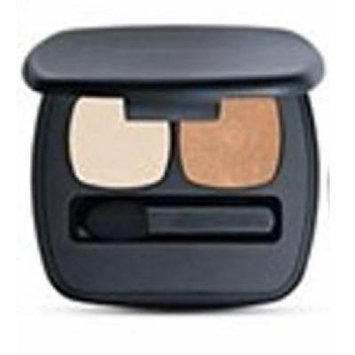 Bareminerals Eye Shadow READY 2.0 Eyeshadow in The Novella Gold Leaf (burnt gold) and Ivory Page (warm cream) (0.1 oz.)
