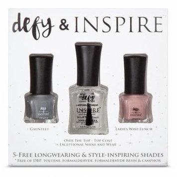 Defy & Inspire Nail Polish Set The Perfect Holiday Gift Set 3pc