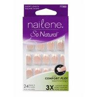 Nailene So Natural Everyday Nails Natural Look Short Pink by Nailene