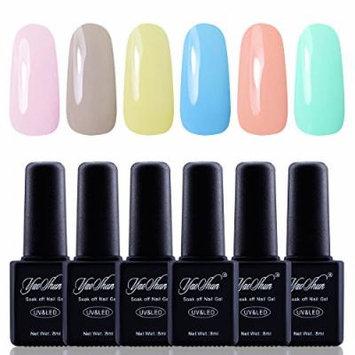 Y&S Gel Nail Polish,Soak Off Gel UV Varnish 6Pcs Sets #002
