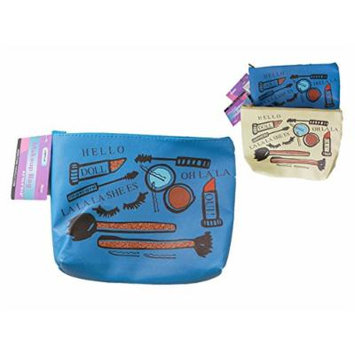 Travel Cosmetic & Makeup Bag, 8.5