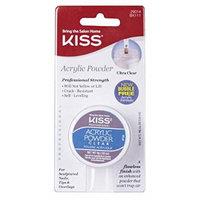 Kiss Acrylic Powder Clear 0.33 Ounce (10ml) (6 Pack)