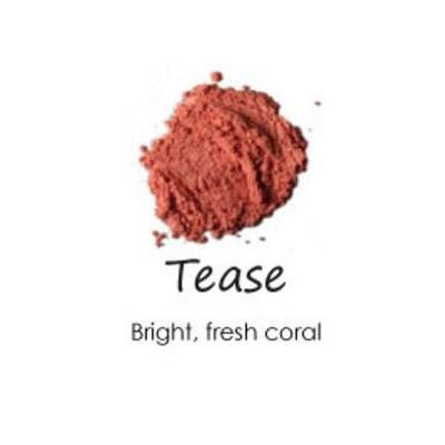 Cheeky Cosmetics Natural Mineral Powder Blush Tease - Bright Coral