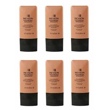 Revlon Photo Ready Skinlights Face Illuminator - Peach Light (6 Pack) + FREE Curad Dazzle Bandages 25 Ct