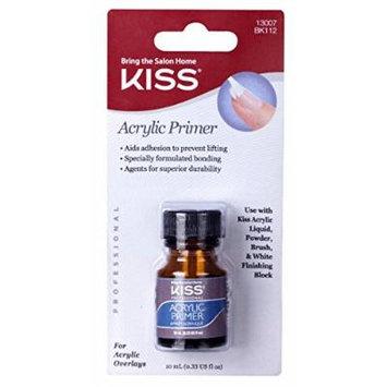 Kiss Acrylic Primer 0.33 Ounce (10ml) (2 Pack)