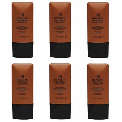 Revlon Photoready Skinlights Face Illuminator ~ Bronze Light 400 (6 Pack) + FREE LA Cross Tweezers 71817