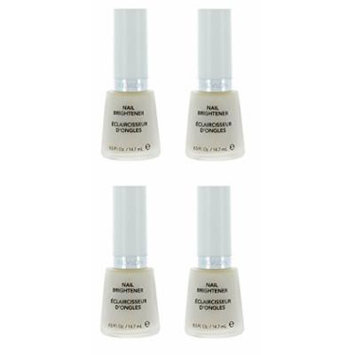 Revlon Nail Brightener Base Coat (4 Pack) + FREE LA Cross Blemish Remover 74851