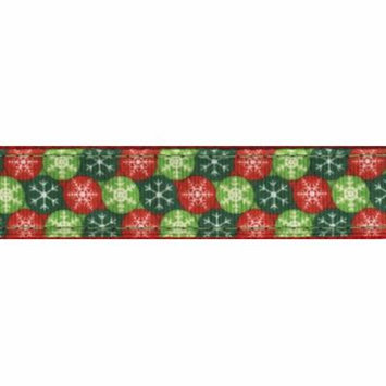 Country Brook Design® 1 Inch Christmas Wish Ribbon Leash - 2 Feet
