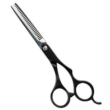 Andis Straight Shears, Left-Handed, Professional Dog and Cat Grooming [Thinning Shear]