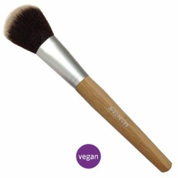 Benecos Powder Brush, Gorgeous, Silky Soft, Toray Hair, 100% Vegan, Easy Use, Long Brush Handle
