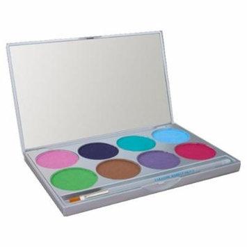 (6 Pack) mehron Paradise Makeup AQ 8 Color Palette Pastel