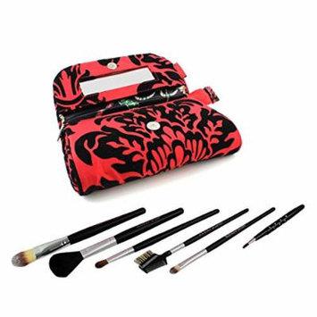 Brush Set Eye Lip Cosmetic Make Up Blush Powder Shadow Face Tool Bag Kit 7pcs