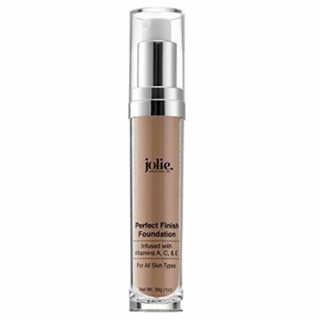 Jolie Perfect Finish Liquid Foundation Makeup SPF 15 Oil Free (MC2)