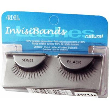 Ardell Invisibands False Eyelashes - Sexies Black (Pack of 4) by Ardell