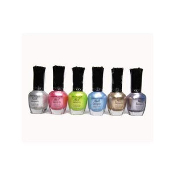 Kleancolor - 6 Awesome Nail Lacquers - Set 6 by mad4cosmetics