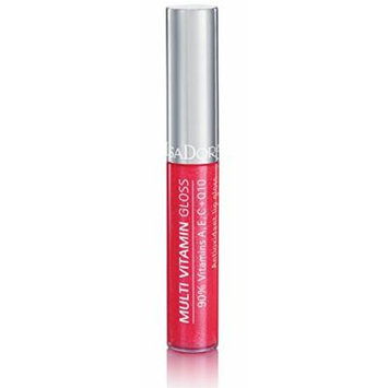 Isadora Multi Vitamin Antioxidant Lip Gloss made by 90% of vitamins A, C, E + Q10 - 7 ml/.24 Fl.oz. (34 Strawberry)