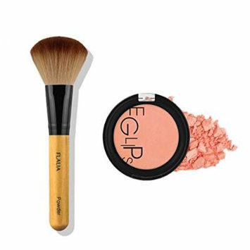 Eglipse Apple Fit Blusher and Flalia Premium Modern Brush SET Sweet Peach + Choco Brush
