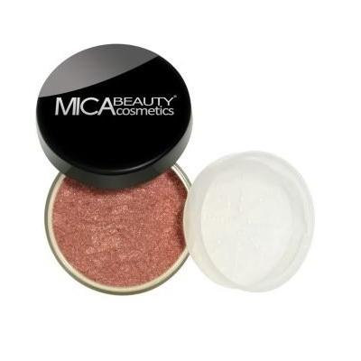 Bundle 2 Items: Mica Beauty Mineral Bronzer + premium Itay Beauty Kabuki (FB-4 Light Kisses)