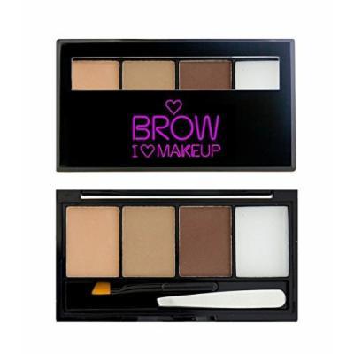 MAKEUP REVOLUTION - I ? Makeup - Brow Kit - Fairest of Them All -Light - Fair - Blonde by MUR