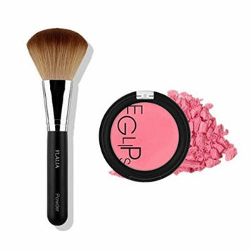 Eglipse Apple Fit Blusher and Flalia Premium Modern Brush SET Sexy Rose + Classic Brush