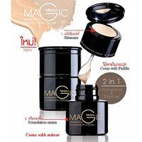 Mistine Magic Shimmer & Foundation Cream Matte Look for Medium Skin