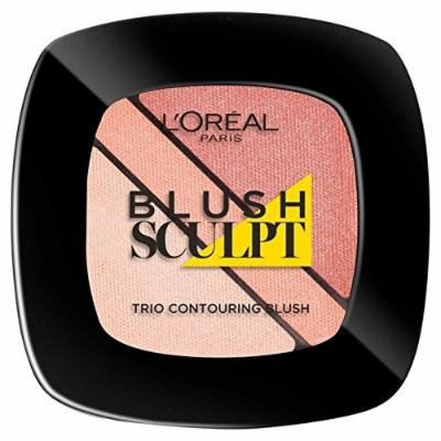 L'Oreal Paris Infallible Blush Trio, Nude Beige 102 (PACK OF 4)