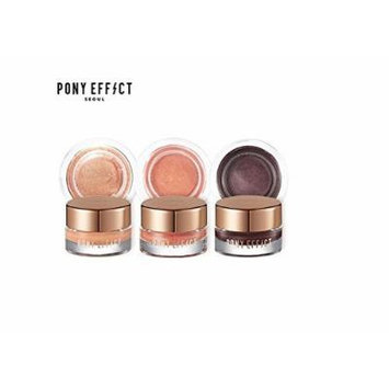 Pony Effect Unlimited Cream Shadow Long Lasting Eye Look (#HIGH STANDARDS)