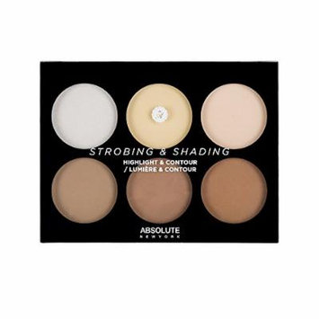 Strobing & Shading by Absolute New York Highlight & Contour Palette Light to Medium