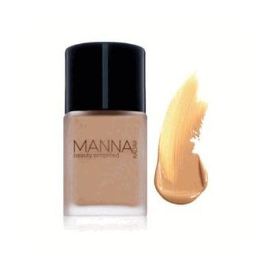Manna Kadar Flawless Liquid Foundation (C3 Warm Yellow)