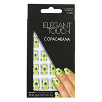 Elegant Touch Trend Nails Club Tropicana, Copa Cabana Pinapples by Elegant Touch