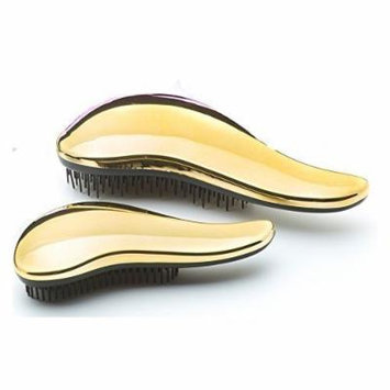 Hair Tools Head Jog 111 Mane-Tamer Metallic Brush Set Gold by Head Jog