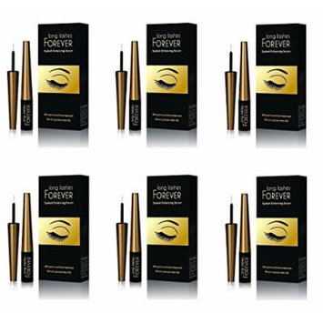 Long Lashes Forever, Eyelash Enhancing Serum, 4 ml (Pack of 6)