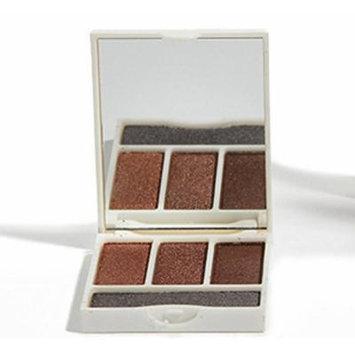 Seraphine Botanicals Vegan Eyeshadow Palette - Breakfast - Neutral Brown, Rich Shimmer Pigment Quad - Ipsy Exclusive