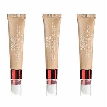Revlon Age Defying Targeted Dark Spot Concealer, Medium Deep, 0.22 Oz (3 Pack) + Makeup Blender