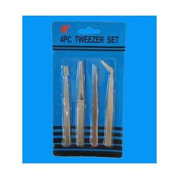 Q6 4pc Tweezer Set, Case of 24