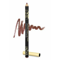 INIKA Certified Organic Lip Liner Pencil, All Natural Formula, Vegan, Rich, Creamy Formula, Suits Sensitive Eyes, 1.2g (Moroccan Rose)