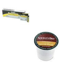 KITEVEEN91GMT4050 - Value Kit - Green Mountain Coffee Roasters Newman's Own Special Blend Extra Bold K-Cups (GMT4050) and Energizer Industrial Alkaline Batteries (EVEEN91)