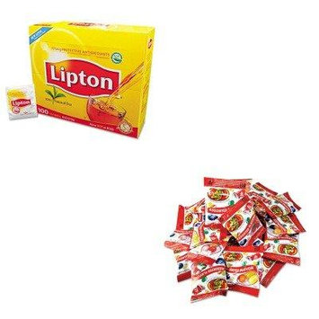 KITLIP291OFX72692 - Value Kit - JELLY BELLY CANDY COMPANY Jelly Beans (OFX72692) and Lipton Tea Bags (LIP291)