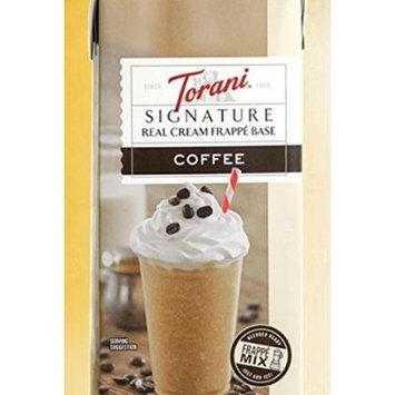Torani Signature Real Cream Coffee Frappe Base