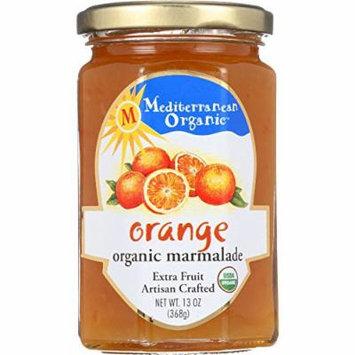 Mediterranean Organic Fruit Preserves - Organic - Orange Marmalade - 13 oz - case of 12