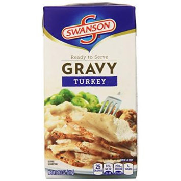 Swanson Gravy, Turkey, 18.3 Ounce (Pack of 8) (Packaging May Vary)