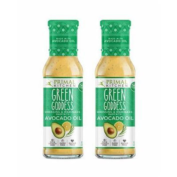 Primal Kitchen - Green Goddess, Avocado Oil-Based Dressing and Marinade, Whole30 and Paleo Approved (8 oz, 2-Pack)